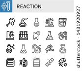 set of reaction icons such as...   Shutterstock .eps vector #1431920927