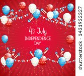 independence day theme.... | Shutterstock .eps vector #1431932327