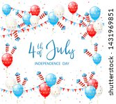independence day theme.... | Shutterstock .eps vector #1431969851
