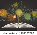 the business concept. on a... | Shutterstock .eps vector #1431977087
