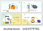 set of website design templates ... | Shutterstock .eps vector #1431979781