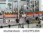 conveyor belt or line in...   Shutterstock . vector #1431991304