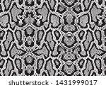 snake skin pattern texture... | Shutterstock .eps vector #1431999017