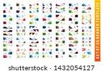 set of web banners in standard... | Shutterstock .eps vector #1432054127
