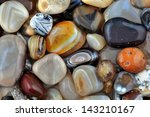natural agate  various types... | Shutterstock . vector #143210167