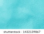 Blue Turquoise Leather Texture...