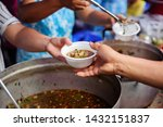 the concept of humanitarianism  ... | Shutterstock . vector #1432151837