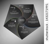 business infographics  geometry ... | Shutterstock .eps vector #1432171991