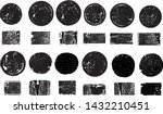 big collection of grunge post... | Shutterstock .eps vector #1432210451