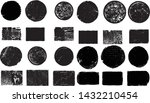big collection of grunge post... | Shutterstock .eps vector #1432210454
