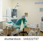 modern dentist's chair in a... | Shutterstock . vector #143222737
