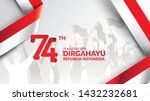 17 august. indonesia happy...   Shutterstock .eps vector #1432232681