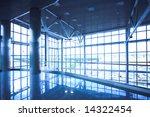 empty corner in office centre ... | Shutterstock . vector #14322454