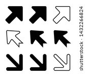 arrows vector illustration....