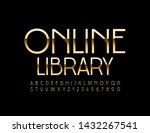 vector shiny sign online...   Shutterstock .eps vector #1432267541