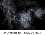 Smoke Background. Ghostly....