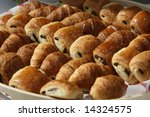 fresh french chocolate bakery | Shutterstock . vector #14324575