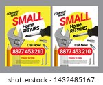 poster template service for... | Shutterstock .eps vector #1432485167