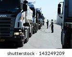 kerem shalom crossing  isr  ... | Shutterstock . vector #143249209