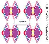 vector seamless pattern... | Shutterstock .eps vector #1432492871