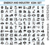 energy and industry icons set ... | Shutterstock .eps vector #143252431