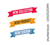 new collection  new product  ... | Shutterstock .eps vector #1432525394