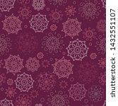 vector red  burgundy abstract... | Shutterstock .eps vector #1432551107