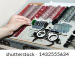 ophthalmologists are preparing... | Shutterstock . vector #1432555634
