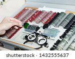 ophthalmologists are preparing... | Shutterstock . vector #1432555637