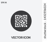qr code vector icon...