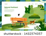 vector illustration   man on...   Shutterstock .eps vector #1432574357
