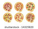vector pizzas