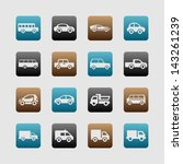 car symbol set | Shutterstock .eps vector #143261239