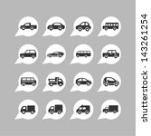 cars pictogram collection | Shutterstock .eps vector #143261254