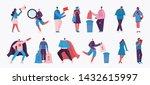 vector illustration in a flat... | Shutterstock .eps vector #1432615997