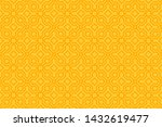 yellow seamless pattern with... | Shutterstock .eps vector #1432619477