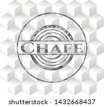 chafe grey badge with geometric ... | Shutterstock .eps vector #1432668437