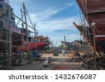 myeik  myanmar   july 6 2015.... | Shutterstock . vector #1432676087