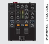 dj mixer music control scalable ... | Shutterstock .eps vector #1432703267