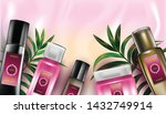 cosmetic design template.... | Shutterstock .eps vector #1432749914