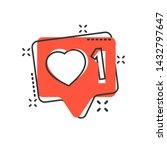 social media notification sign...
