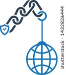link building icon. web link...   Shutterstock .eps vector #1432826444