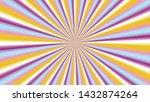 sunburst background in purple...   Shutterstock .eps vector #1432874264
