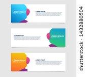 banner background. modern...   Shutterstock .eps vector #1432880504
