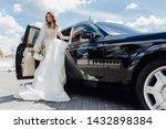 Stylish Bride With Flower...