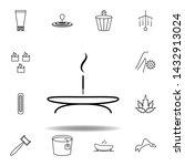 incense sticks on base  spa...