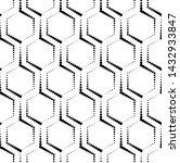 vector seamless texture. modern ... | Shutterstock .eps vector #1432933847