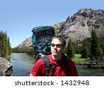 backpacking in montana | Shutterstock . vector #1432948