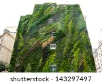 Green Wall On Exterior Of ...