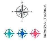 Compass Vector Icon. Navigatio...